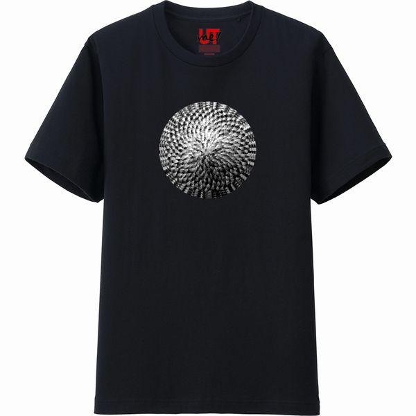 ひまわりTシャツ黒
