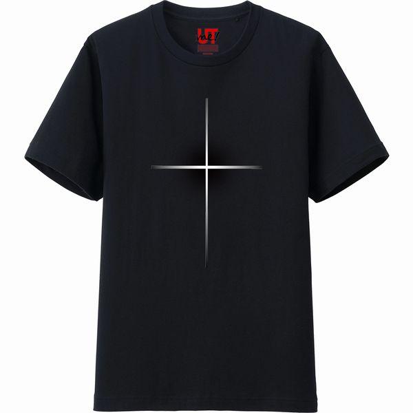 十字架Tシャツ黒