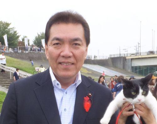 足立区議会議員鹿浜昭先生 500