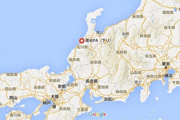 徳光PA地図