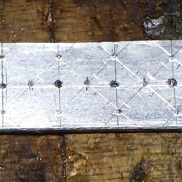 非加熱ルビーリングフィレンツェ彫り作成過程4