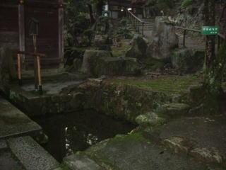 三井寺閼伽井石庭