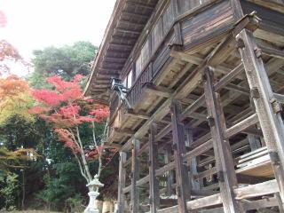 日吉大社摂社三宮神社拝殿本殿