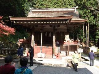 日吉大社摂社白山姫神社本殿