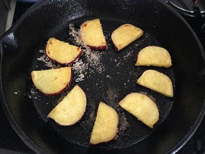 さつま芋のパンケーキ