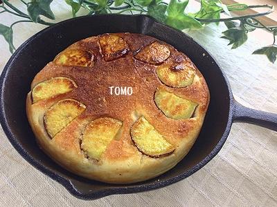 さつま芋のパンケーキ2
