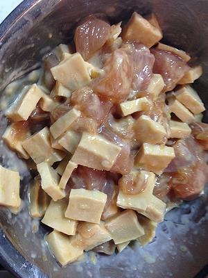 鶏胸肉と高野豆腐1