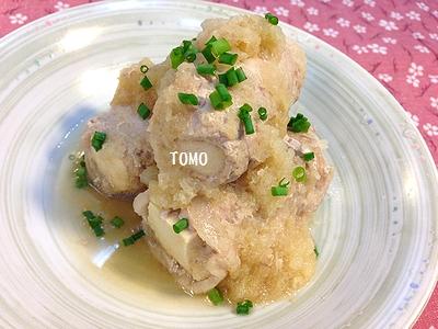 高野豆腐と豚肉のみぞれに2