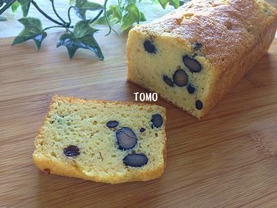 おからでノンオイル♪黒豆のケーキ