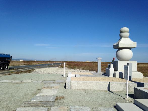 仙台の慰霊碑