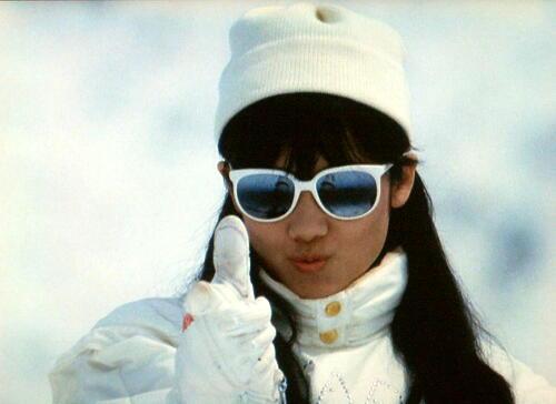 私をスキーに