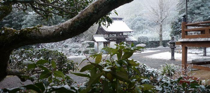 20151218寺雪景色