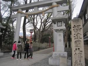 16年1月八幡神社①