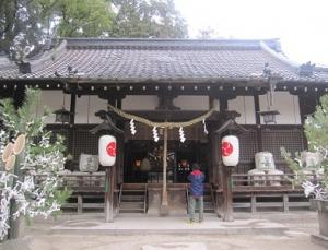 16年1月八幡神社②