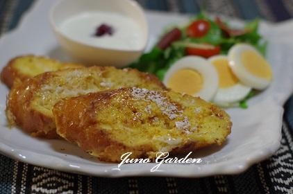 フランスパンフレンチトースト0124