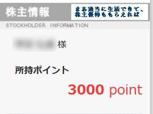 カッパ・クリエイト 優待ポイント 201509