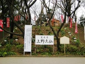 上野大仏入口