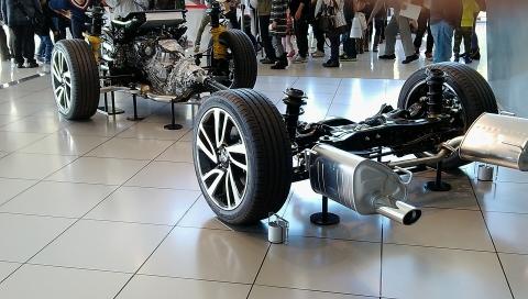 スバル車の骨格