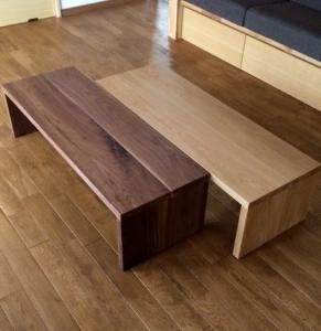 コの字テーブル1