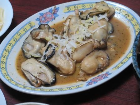 牡蠣バタ醤油