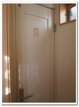 トイレ入口にトイレサイン