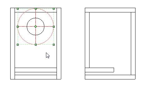勝手にAR_CAD(自己満)講座 4回目 ユニット開口部の表示 線種変更・円表示等