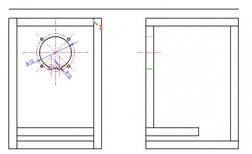 勝手にAR_CAD(自己満)講座 12回目 寸法線(水平・垂直距離)
