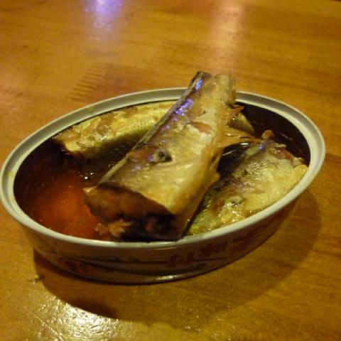 さんま缶と加賀鳶3