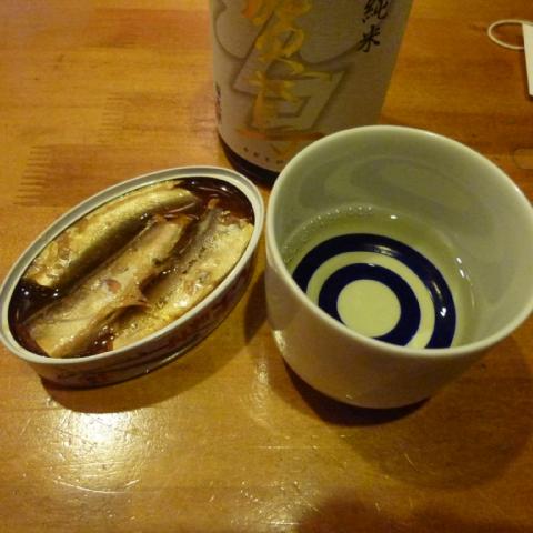 さんま缶と加賀鳶2