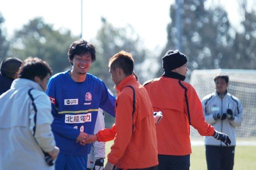 内田選手と西川選手0210