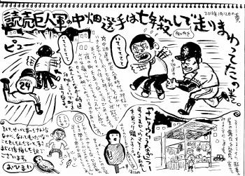 夢シリーズ・中畑改
