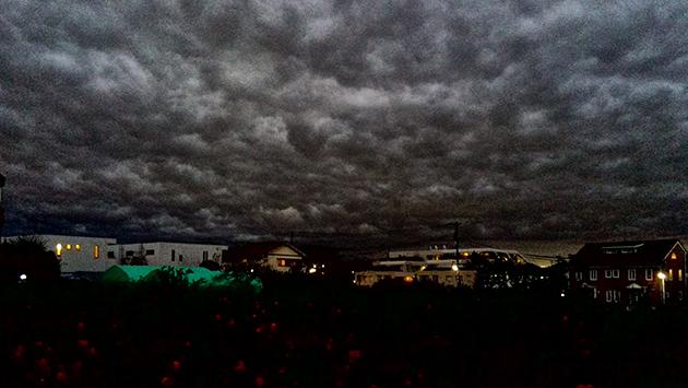 こんな空を初めて見ました