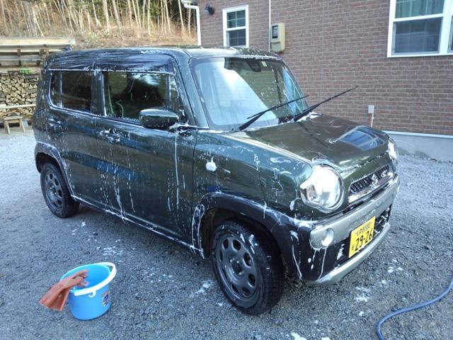洗車ハスラー1231