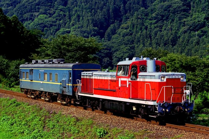2001年7月23日 本宿~上神梅にて