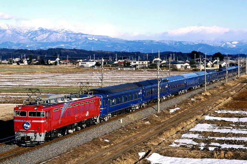 1998年2月1日 蒲須坂~氏家にて (2)