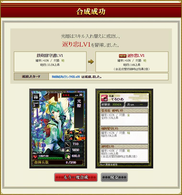 28 1月9日 光姫和田合成3結果