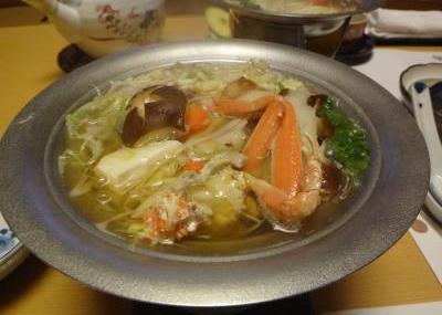 カガヤ夕食10