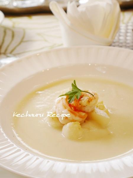 カリフラワーのスープ 1