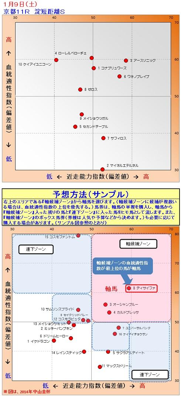 2015-01-09競馬予想