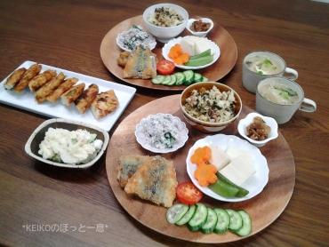 高菜チャーハンやサンマフライ