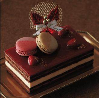 サンクスクリスマスケーキ