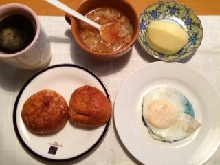 ブラン朝食