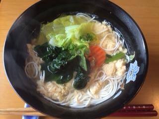 豆腐そうめん にゅう麺風
