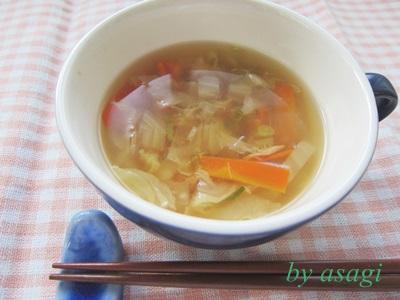 和風ツナスープ