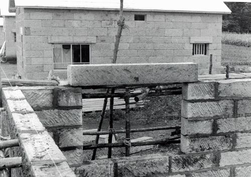 石山東5丁目 軟石住宅 1958年築