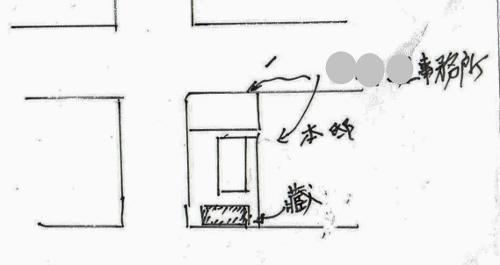 Yさん作画略図 C工業