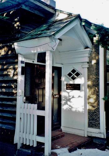 琴似八軒 Tさん宅 玄関廻り 1999年