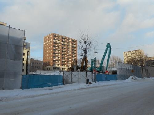 北11条 Nビル 解体工事中