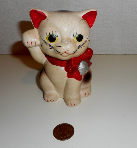 貯金箱 東海銀行 招き猫