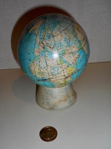 貯金箱 東海銀行 地球儀型